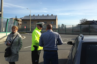 Zastavených vodičov policajti informovali o priestupku