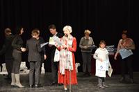 Detskí interpreti pri oceňovaní v Mestskom divadle v Levoči