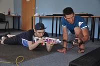 Streľba z laserovej pušky