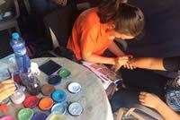 Maľovanie na ruky na košickej Hlavnej