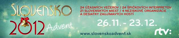 Slovensko 2012 Advent