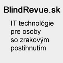 Blindrevue.sk - IT technológie pre osoby so zrakovým postihnutím