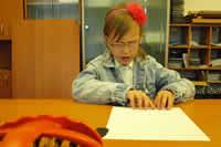 Súťaž v čítaní a písaní Braillovho písma