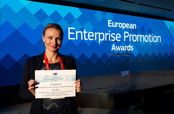 Jana Gregorovičová, senior CSR špecialista BILLA s ocenením