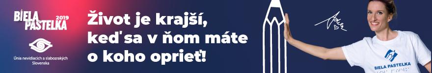 Zbierky ÚNSS - Biela pastelka - Únia nevidiacich a slabozrakých Slovenska